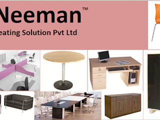 Modular Office Workstation: industrial  by Neeman Seating Solution Pvt Ltd,Industrial