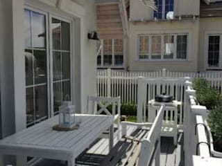 TOP FENCE s.c. Balkon Plastik White