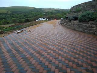 Jardin rustique par KwikPave SA Rustique