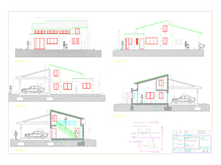 Ampliación de vivienda unifamiliar en La Moraleja de Gesarquitectos Moderno