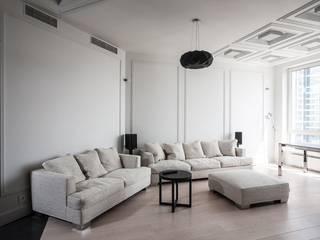 Salas / recibidores de estilo  por Технологии дизайна, Escandinavo
