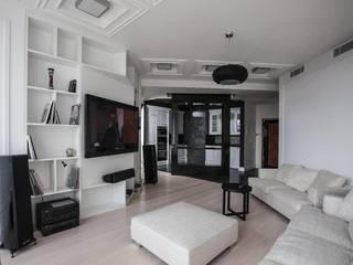 Scandinavian style living room by Технологии дизайна Scandinavian