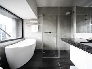 Modern bathroom by 有隅空間規劃所 Modern