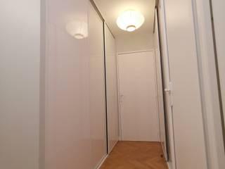 Appartement Courbevoie Couloir, entrée, escaliers modernes par Nuance d'intérieur Moderne
