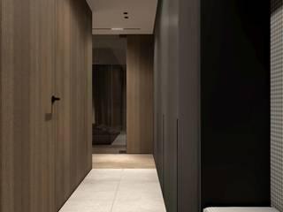 KISSL Коридор, прихожая и лестница в стиле минимализм от АРТ УГОЛ Студия архитектуры и дизайна Минимализм