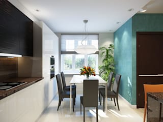 Scandinavian style kitchen by Технологии дизайна Scandinavian