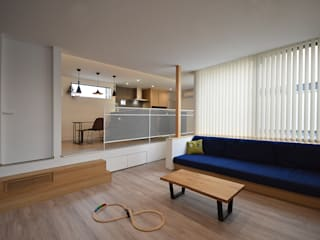 北堀の家: 熊倉建築設計事務所が手掛けた現代のです。,モダン