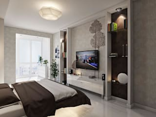 Modern style bedroom by Технологии дизайна Modern