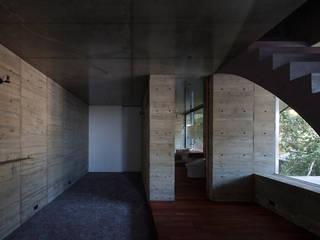 cnest キューボデザイン建築計画設計事務所 モダンスタイルの寝室