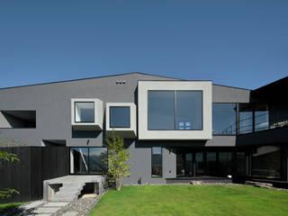 M4 キューボデザイン建築計画設計事務所 モダンな 家