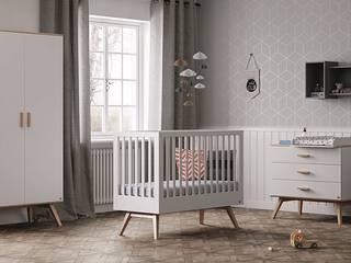 Modernes Babyzimmer in verschiedenen Ausführungen: modern  von QMM TraumMoebel,Modern