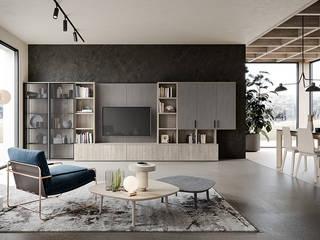 Mobili a Colori Living room Solid Wood Beige
