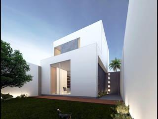 TH Casas modernas de Geometrica Arquitectura Moderno