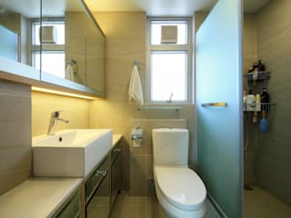 海桃灣 Modern bathroom by Inspire Design Ltd Modern