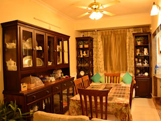 Home Design And Execution Classic style dining room by Anisha Deb (Freelance Interior Designer) Classic