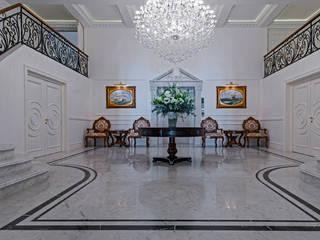 Mediterranean style corridor, hallway and stairs by Inan AYDOGAN /IA Interior Design Office Mediterranean