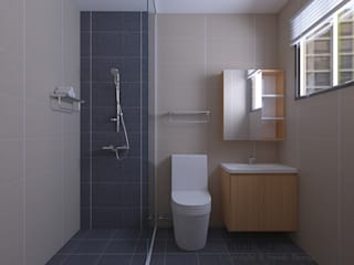 Bathroom Swish Design Works 浴室 磁磚 Multicolored