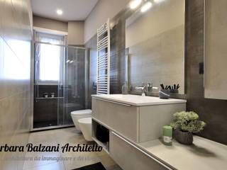 Ristrutturazione completa Torino Bagno moderno di Barbara Balzani Architetto Moderno