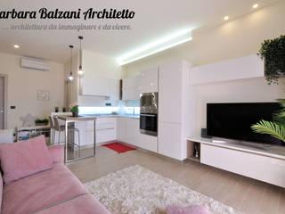 Ristrutturazione completa Torino Soggiorno moderno di Barbara Balzani Architetto Moderno