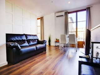 Minimalist Oturma Odası FOCUS Arquitectura Minimalist