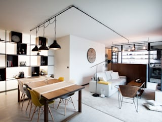 Industrial style dining room by IN-PROOV Industrial