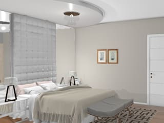Modern style bedroom by Graziela Lara Interiores Modern