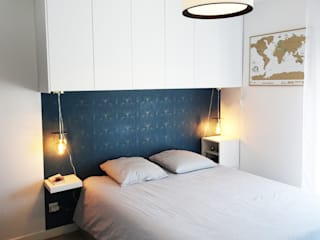 Modern Bedroom by Sandrine Carré Modern