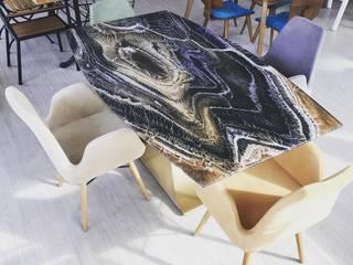 Pirsas Design – MASA VE SANDALYE ÇEŞİTLERİ: modern tarz , Modern