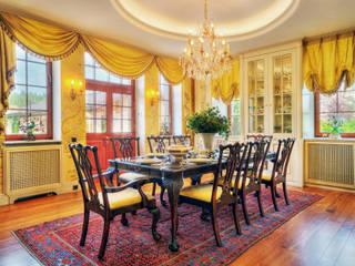 Дом в Подмосковье в английском стиле Гостиная в классическом стиле от ENGLISH INTERIORS - АНГЛИЙСКИЕ ИНТЕРЬЕРЫ Классический