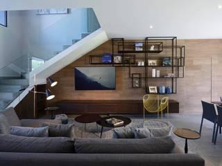 Nowoczesny salon od Concepto Taller de Arquitectura Nowoczesny