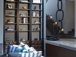 Concepto Taller de Arquitectura Living roomShelves Grey