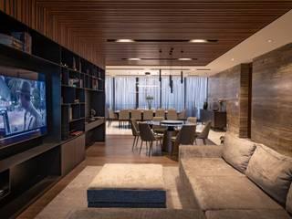 Salas multimédia modernas por Concepto Taller de Arquitectura Moderno