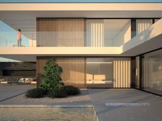 Habitação Uni-familiar por SERGIO PEIXOTO Moderno