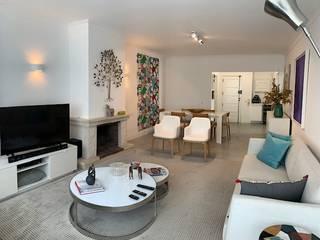 Mediterranean style living room by NEUSA MORO Mediterranean
