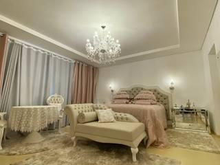 Apartamento decorado Quartos clássicos por Monteiro arquitetura e interiores Clássico