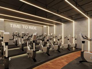 Endüstriyel Fitness Odası BÖHEM STUDIO Endüstriyel