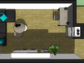 modern  by Azohia Design - Diseño y Decoracion Maria Alejandra Bucher EIRL , Modern