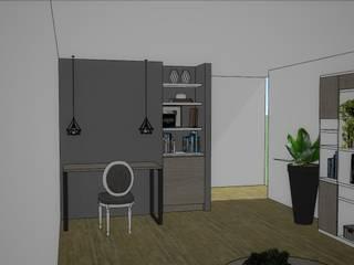 в современный. Автор – Azohia Design - Diseño y Decoracion Maria Alejandra Bucher EIRL , Модерн