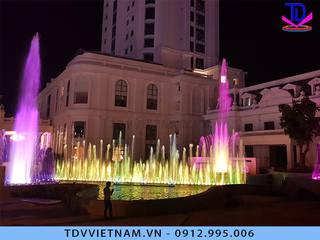 Thiết kế lắp đặt Nhạc nước nghệ thuật bởi Công ty Đài phun nước TDV Việt Nam Hiện đại