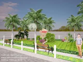 Thiết kế cảnh quan sân vườn INSEE bởi Sân Vườn Đỉnh Việt