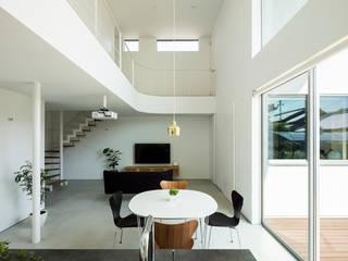 House KN モダンデザインの ダイニング の HAMADA DESIGN モダン