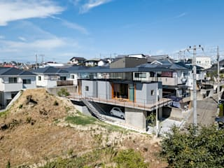 Eclectic style houses by HAMADA DESIGN Eclectic