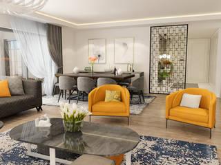 ELIT MANZARA EVLERİ Modern Oturma Odası ARTERA İÇ MİMARLIK VE MİMARLIK Modern