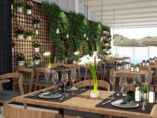 OZLEM DONER Modern Yemek Odası ARTERA İÇ MİMARLIK VE MİMARLIK Modern