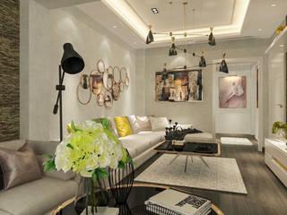 BURHANIYE YAZLIK VILLA Modern Oturma Odası ARTERA İÇ MİMARLIK VE MİMARLIK Modern