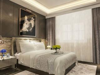 BURHANIYE YAZLIK VILLA Modern Yatak Odası ARTERA İÇ MİMARLIK VE MİMARLIK Modern