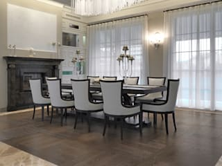 Colonial style dining room by Cadorin Group Srl - Top Quality Wood Flooring Colonial
