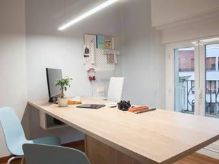 Acogedora oficina de Per Se arquitectura Estudios y despachos de estilo minimalista de Per Se arquitectura Minimalista