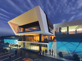 Diyarbakır Venüs Spor Kompleksi Modern Fitness Odası ArchSia Modern
