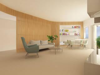 Grippo + Murzi Architetti Comedores de estilo moderno